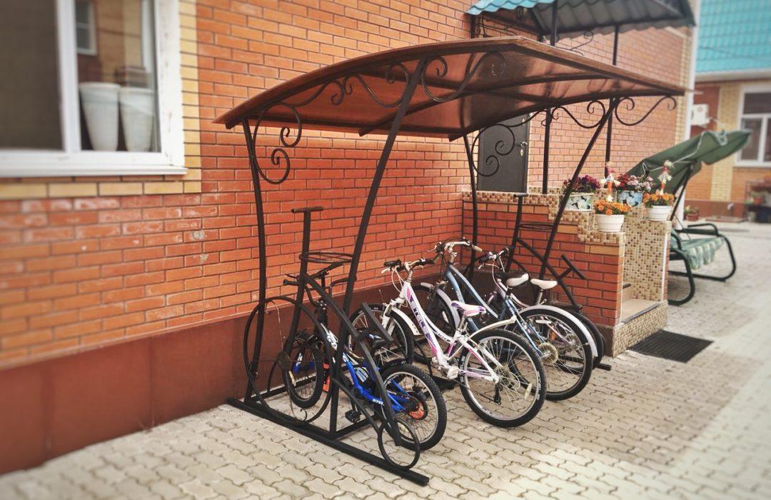 Навес для велосипедов