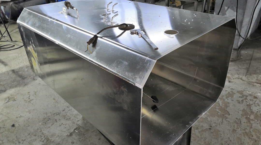 Алюминиевый топливный бак